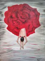 Картина Червено величие
