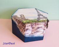"""Кутия за бижута """"Айфелова кула"""""""