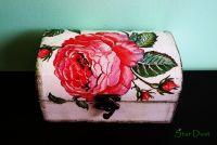"""Кутия за бижута """"Роза"""""""